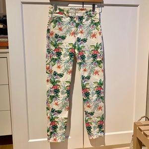American Apparel Flamingo High Rise Jeans